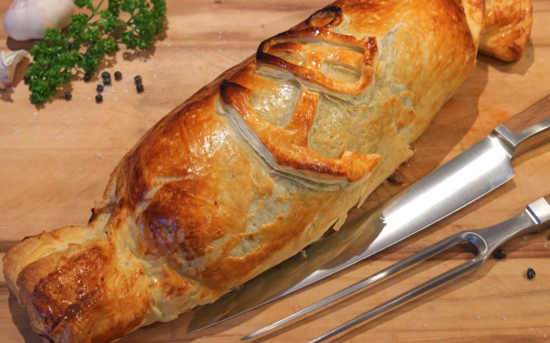 Weihnachtsessen: Filet Wellington vom Grill