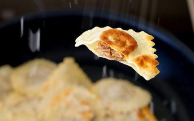 Pulled Pork Ravioli | Pasta mit rauchiger Barbecue-Füllung