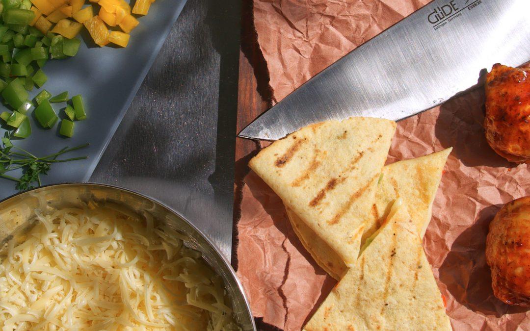 Quesadillas grillen – schnelles Fingerfood vom Grill