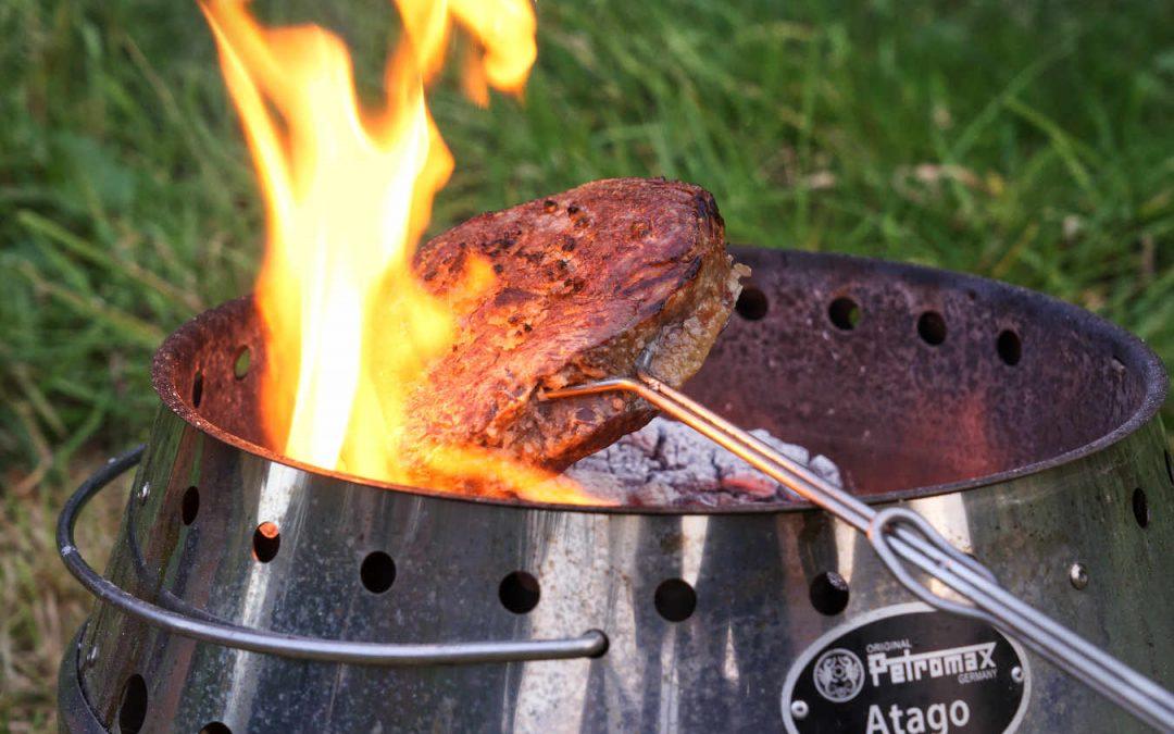 Rib Eye Steak über dem offenen Feuer – Picanha Style