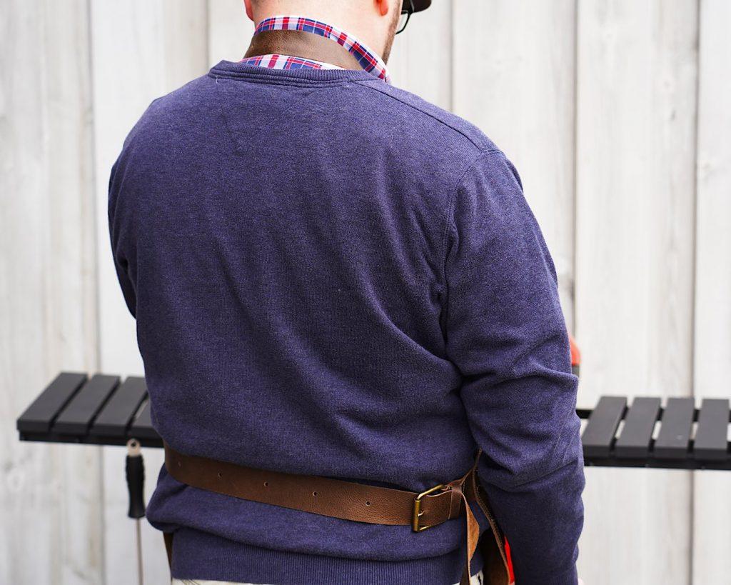 Rohleder Grillschürze - Heckansicht von hinten