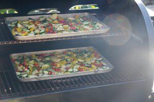 Grillgemüse auf dem Weber SmokeFire