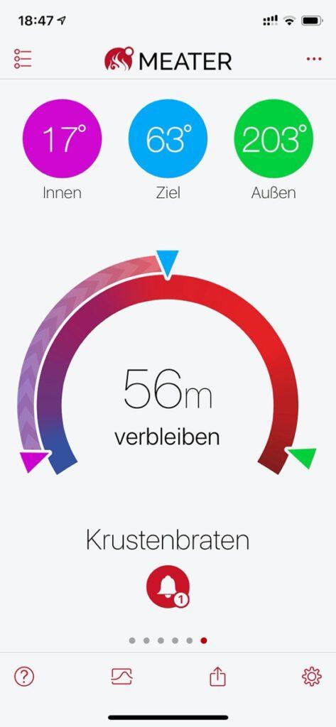 MEATER - Prognose der Garzeit - kuestenglut.de
